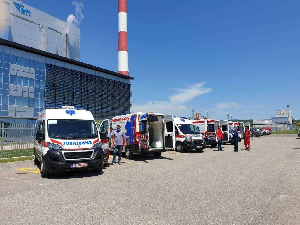 eft stanari 6 sanitetskih vozila
