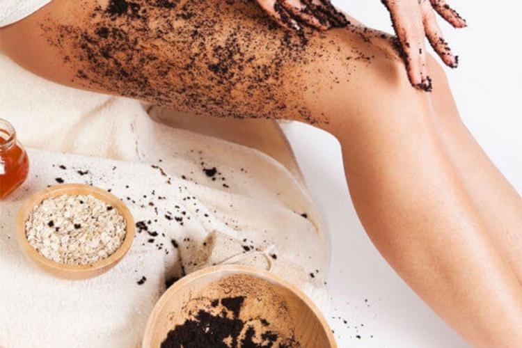 Kozmetika iz kućne radinosti - Piling od taloga kafe