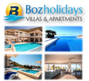 BozHolidays luksuzne vile i apartmani