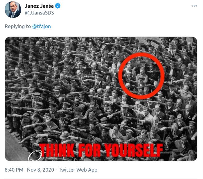 Janša poručio EU da su svi nacisti osim njega Janez-fotografija