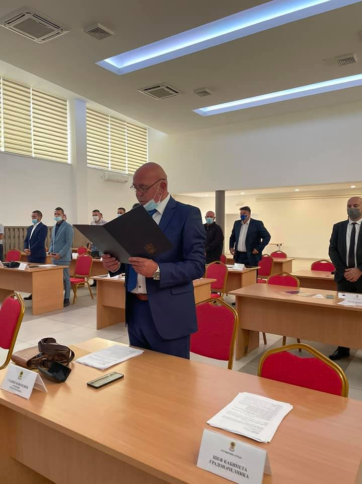 zamjenik gradonačelnika Slavko Kovačević